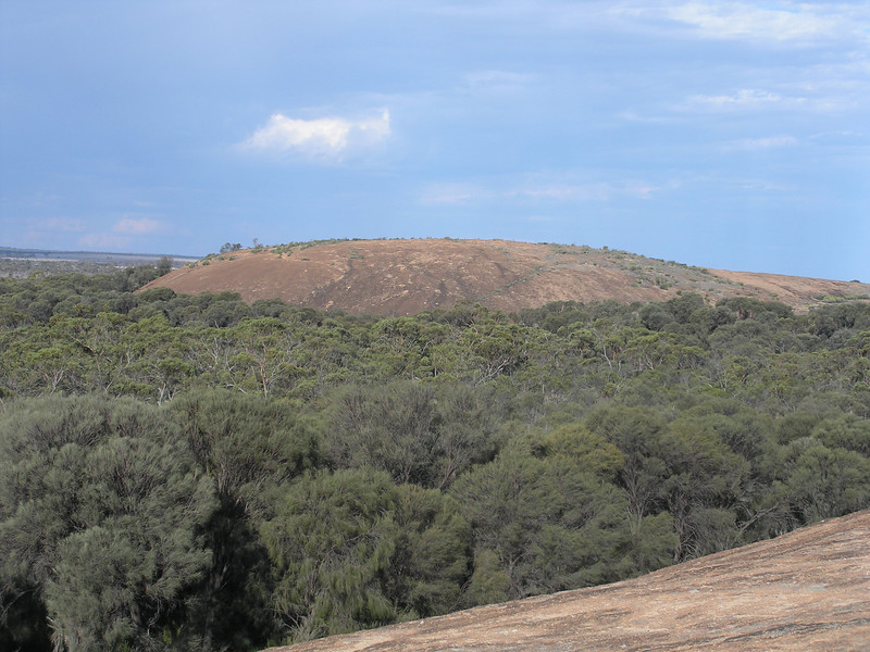 Another large granite outcropping - from Wave Rock