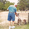 Feeding the Roo at Alpaca Farm