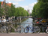 Bicycles along the canals