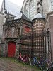 "Bicycles along ""De Oude Kerk"""