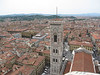 Giotto's Bell Tower from the top of Brunelleschi's Dome