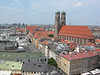 The view west from the top of Peterkirche