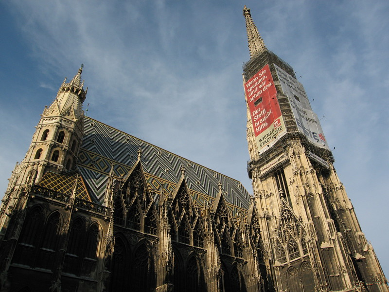 Stephansdom -- incredibly massive and central to everything.