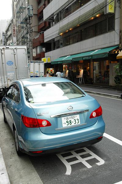 路邊見到的新一代Bluebird,不曉得會不會是下一代的國產Sentra