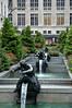 Rockefeller center的庭園造景