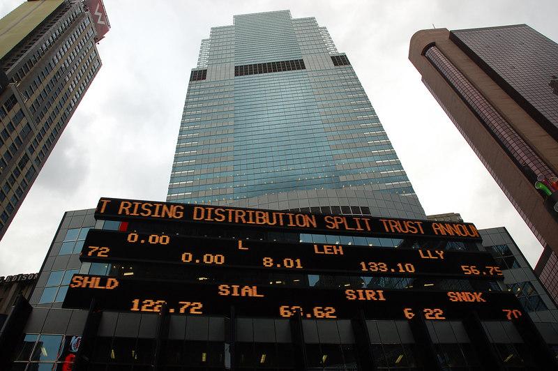 股價顯示板