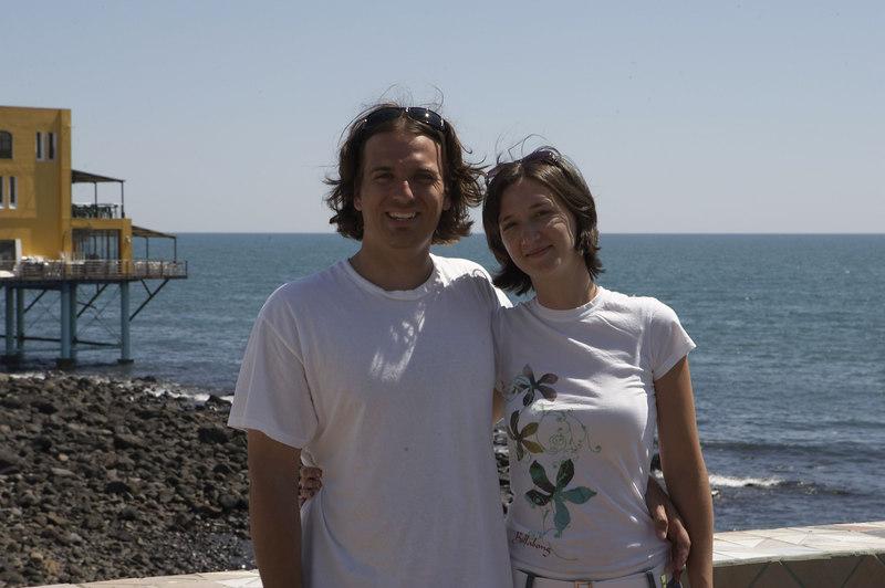Jesse and April
