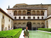 The Alhambra Castle, Granada, Spain.