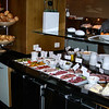 900 Breakfast in Helsingborg immortalized by Tom: the best continental breakfast of the trip.
