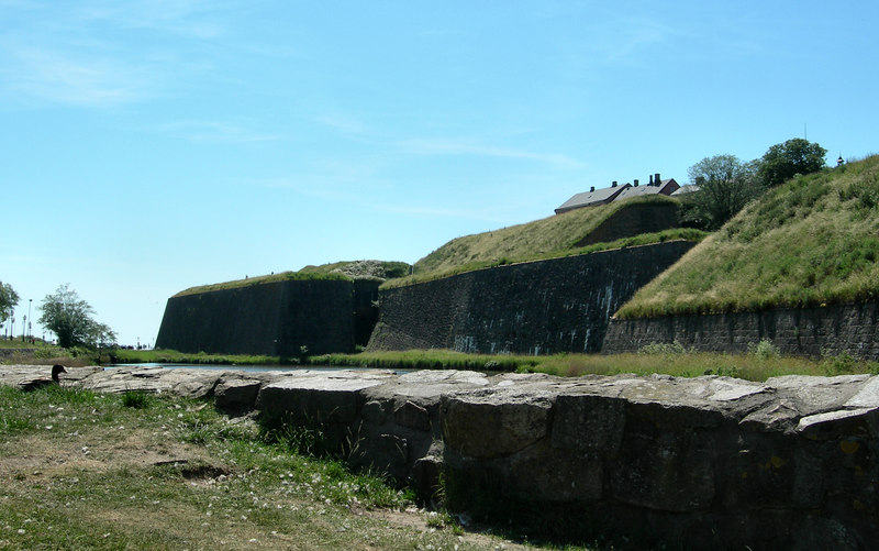 930 Varberg fortress on our next-to-last stop.
