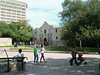 A view of the Alamo