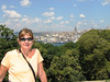 A view of the city from one of the balconies of Topkapi Palace.  In earlier centuries only the sultan and his haram of 400 wives and concubines were able to enjoy this view.  I got to share if with my haram of one.
