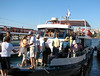 Late in the day we boarded a small river boat for a sunset cruise on the Bosphorus River.