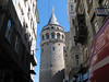 The Galata Tower was built in 1348 and served as a watch tower for the city.  After walking all day we opted for the elevator to the top where we enjoyed 360 degree views of Istanbul.