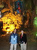 Our guide, Mr. Phong, explains how the cave was formed many centuries ago.