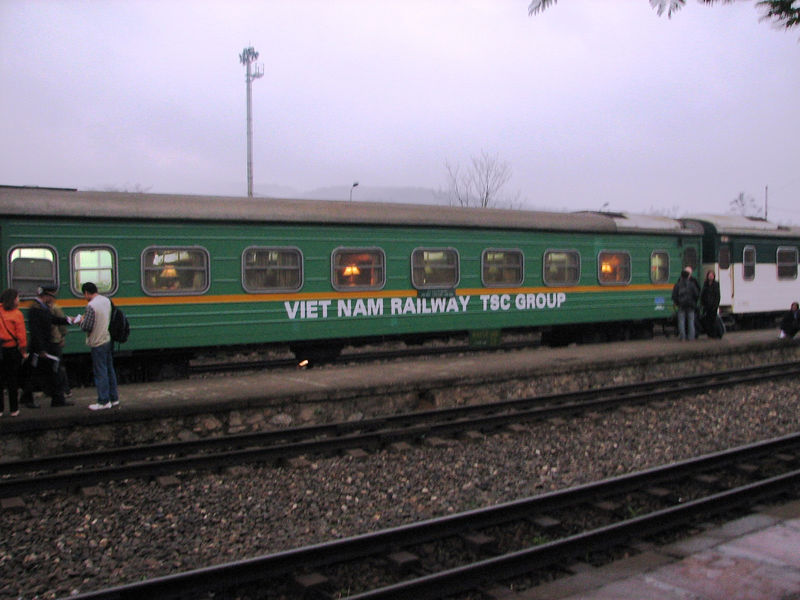 From Hanoi we took the night train to Loa Chai, which sits on the border of Vietnam and China.