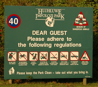 September 2nd - Hluhluwe-Imfolozi National Park
