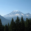 View of Mt. Rainier from the south (Mt. Rainier)