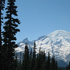 View of Mt. Rainier from the east (Mt. Rainier)