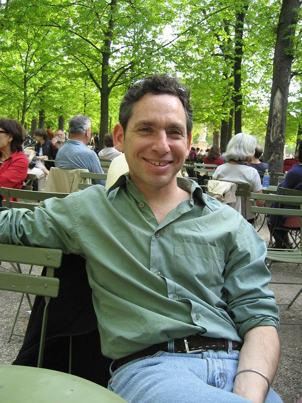 First spring Sunday  in Paris. Met Phil at Jardin de Luxemburg.