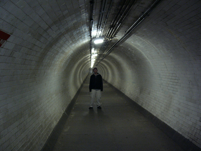 20 - under river tunnel