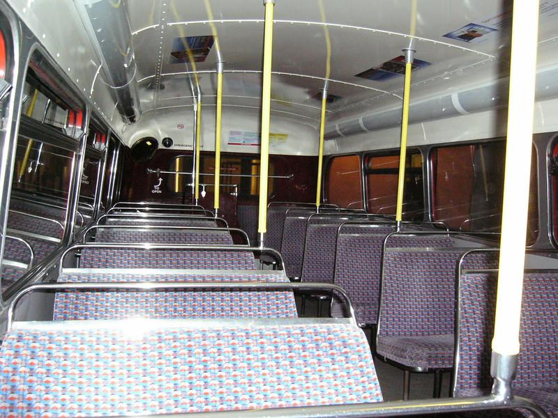 100 - empty bus