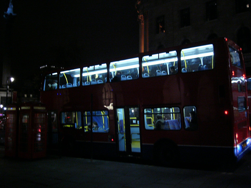50 - new double decker bus