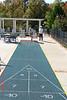 Shuffleboard at the resort