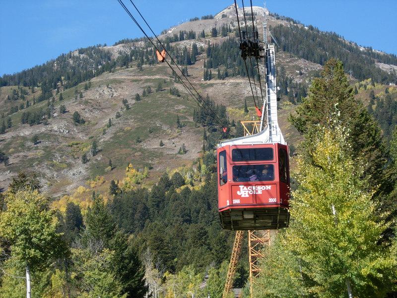 The tram in its last weekGrand Teton National Park