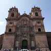 Church of the Society of Jesus in the Plaza de Armas, Cusco Peru