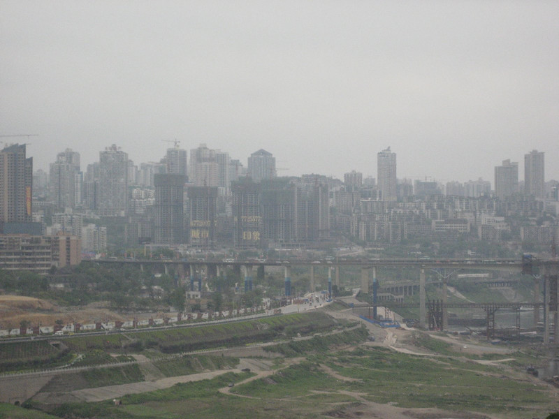 City of Chungqing - always a bit hazy - MS photo