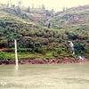 Yangtze River shore line