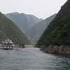 Along Daning River - Many excursion cruise ships