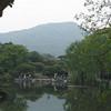Reflecting pool in Hua Gang Park