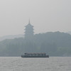 Pagoda on shore of West Lake
