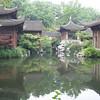 Japanese garden in Hua Gang Park