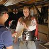 Jamestown Settlement staff member