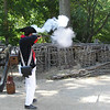 Musket demonstration - Fire