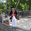 Musket demonstration - preparing to load