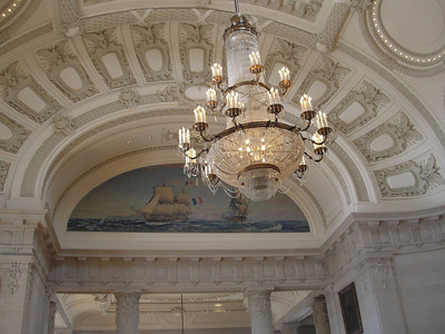 Mural in Bancroft Hall