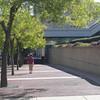 Walk along Convention Center