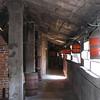 Walkway alongside kilns
