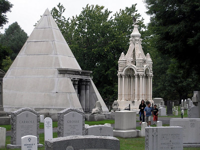 USMA Cemetery - unique monuments