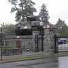 Abrams Gate entrance to USMA Visitor Center