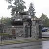 Abrams Gate entrance to USMA Visitor Center