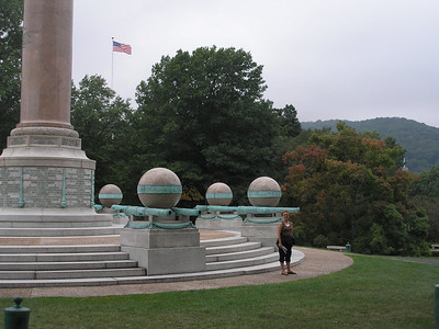 Base of Civil War Monument