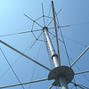 Ladder up the mast