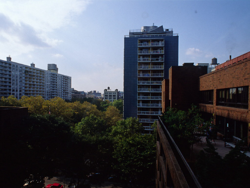 View from NYU Law School Dormatory when Visiting Ann