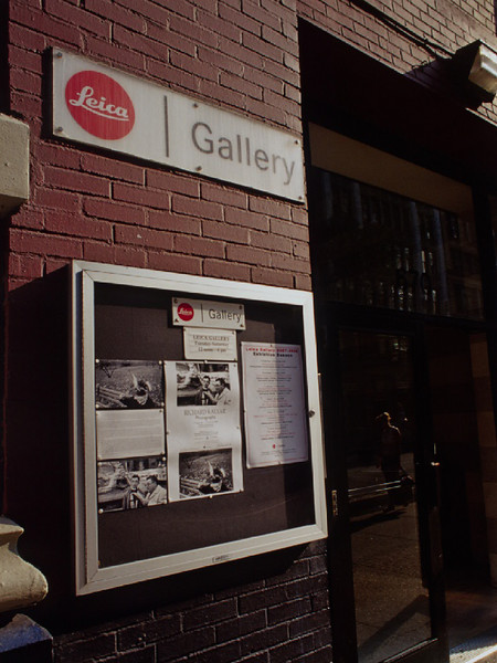 Leica Gallery on Broadway