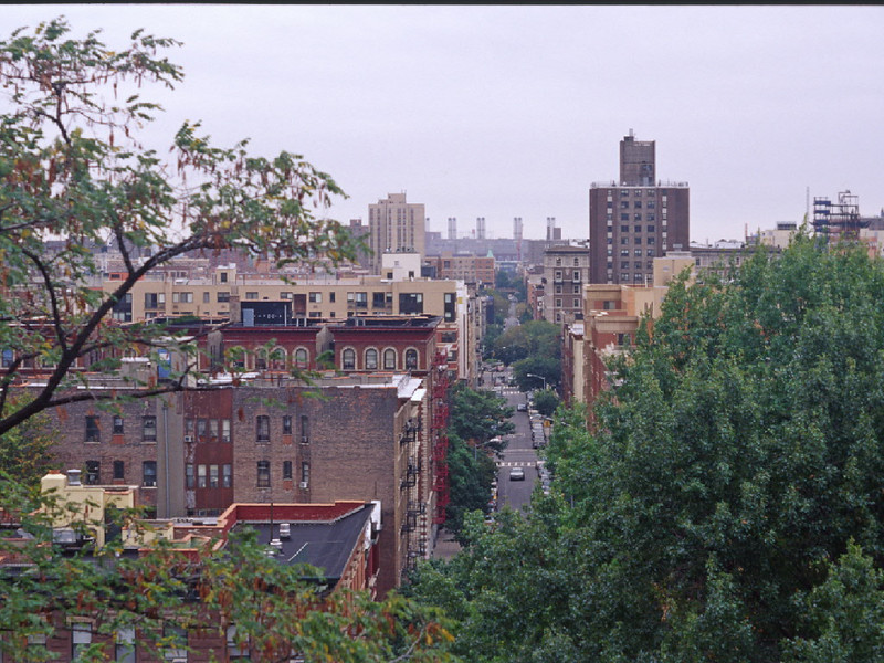 View of Harlem for Morningside Dr.